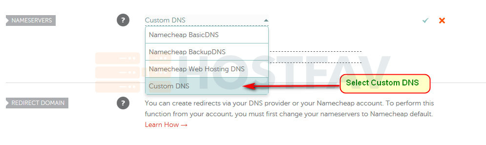 Namecheap Manage Custom DNS